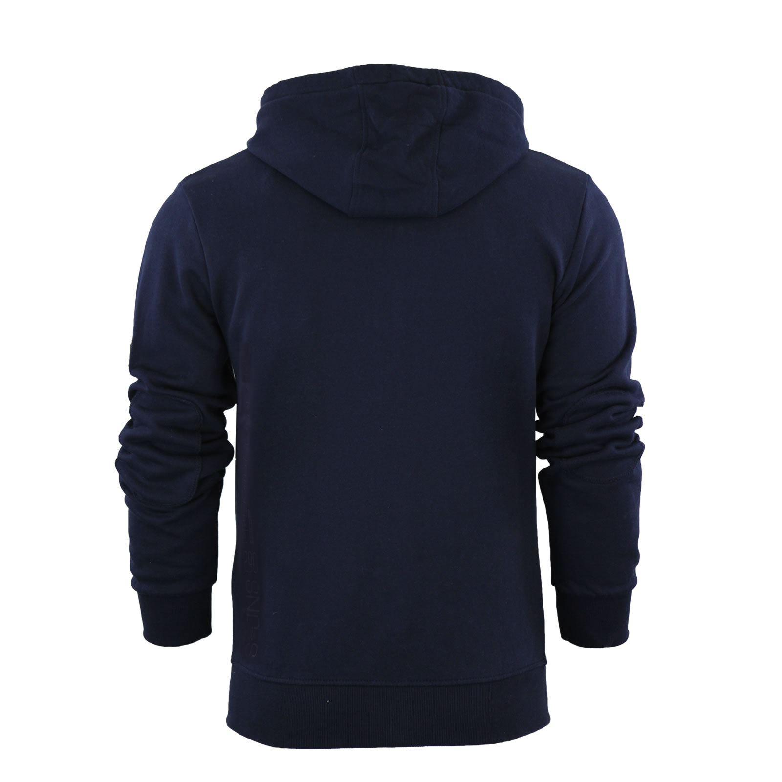 Mens-Hoodie-Smith-amp-Jones-Zip-Up-Hooded-Sweater-Jumper thumbnail 6