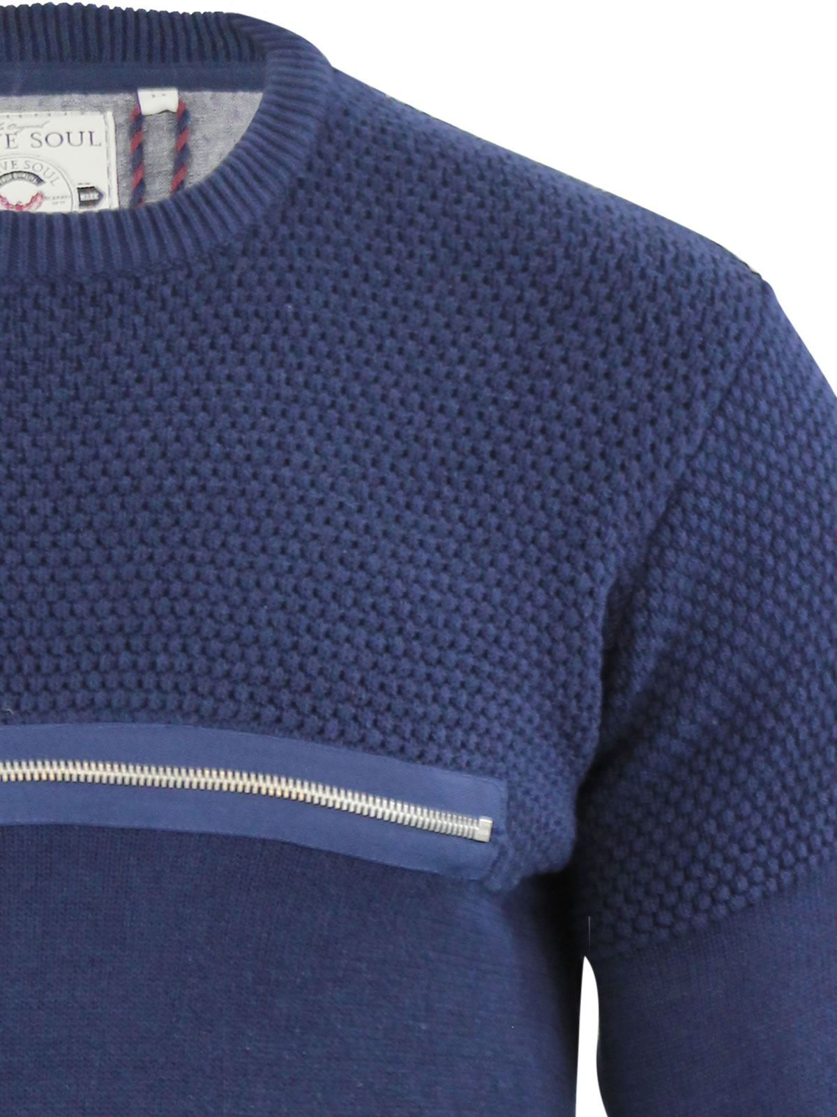 Mens-Jumper-Brave-Soul-Knitted-Sweater-In-Various-Styles thumbnail 140