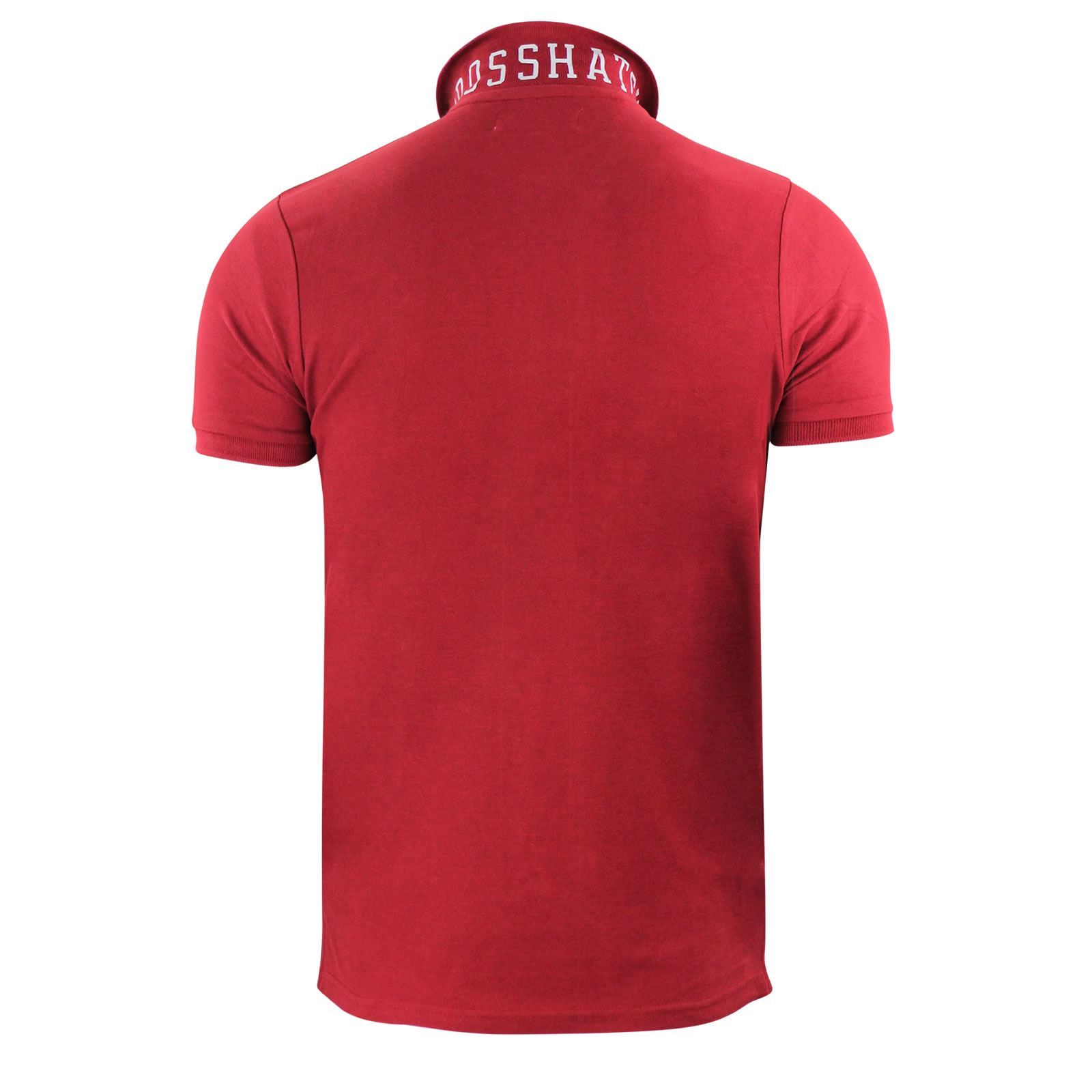 Crosshatch-Mens-Polo-T-Shirt-Pique-Polo-Cotton-Collared-Short-Sleeve-T-Shirt thumbnail 33