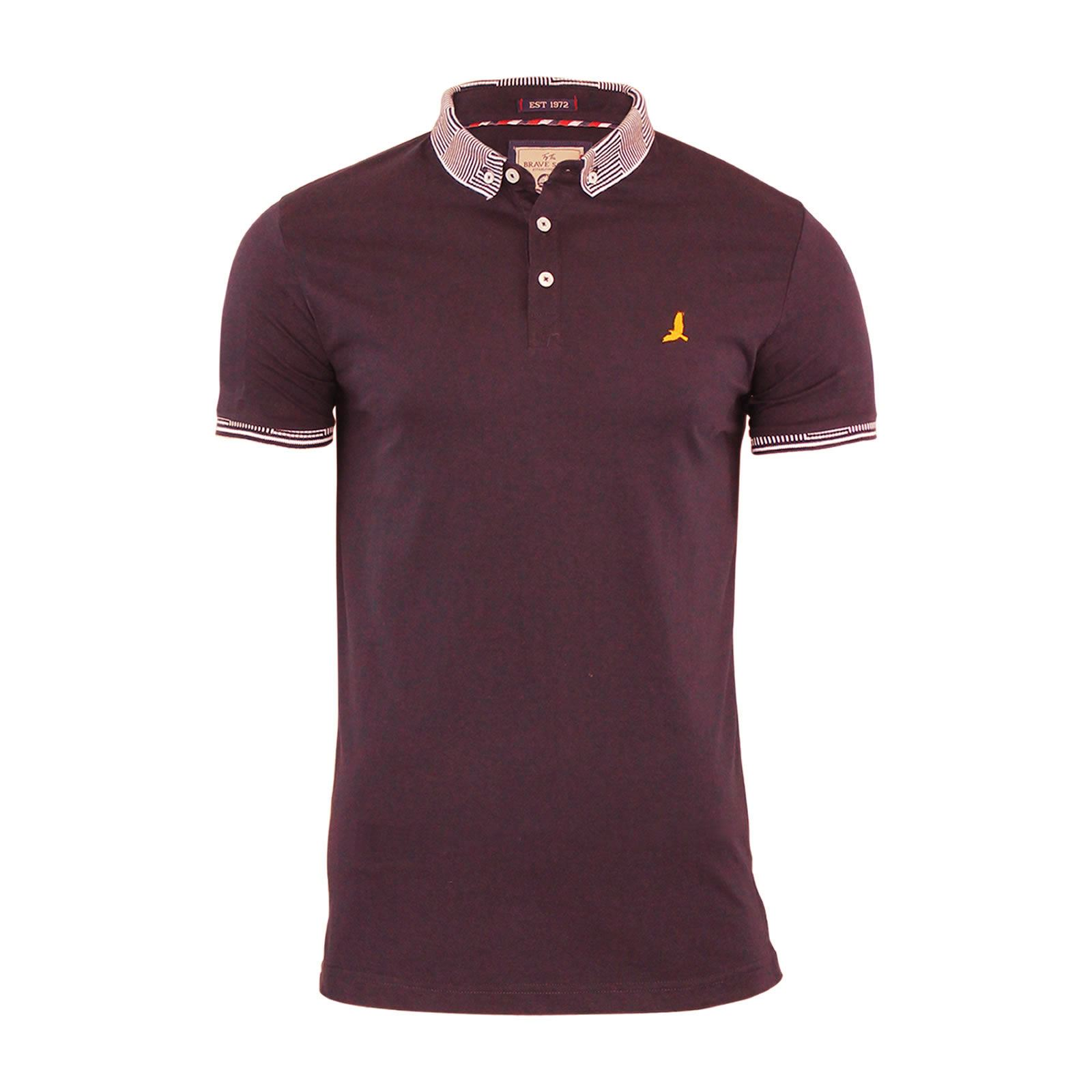 Brave-Soul-Glover-Mens-Polo-T-Shirt-Cotton-Collared-Short-Sleeve-Casual-Top thumbnail 38