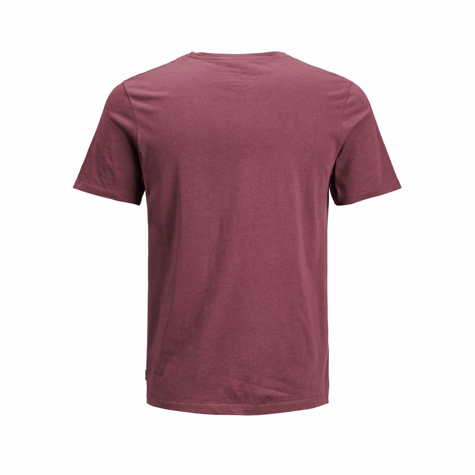 Camiseta Jack & JONES de hombre estaba Cuello Redondo Mangas Cortas Gráfico Camiseta
