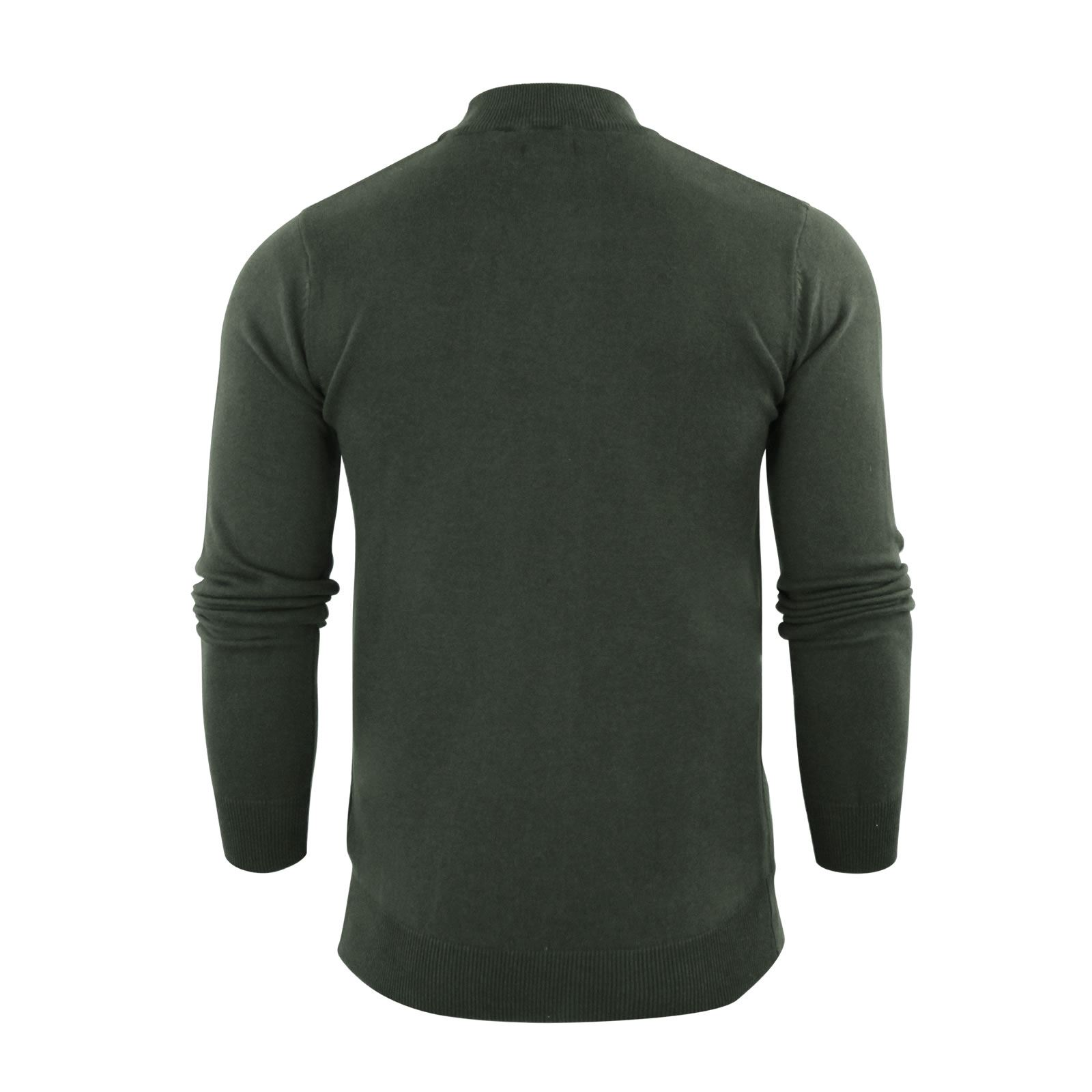 Mens-Jumper-Brave-Soul-Turtle-Neck-Cotton-Pull-Over-Sweater thumbnail 18