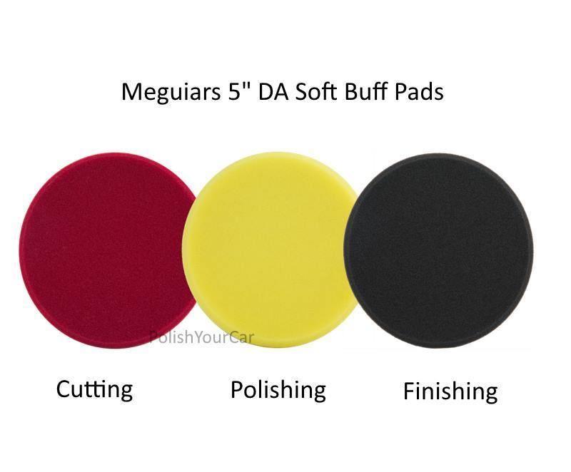 Cutting Disc Pads & 5 DA Polishing Meguiar's 5 Finishing