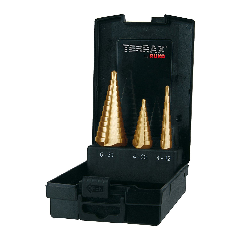 HSS Taper Drill Bit 4mm to 12mm Faithfull