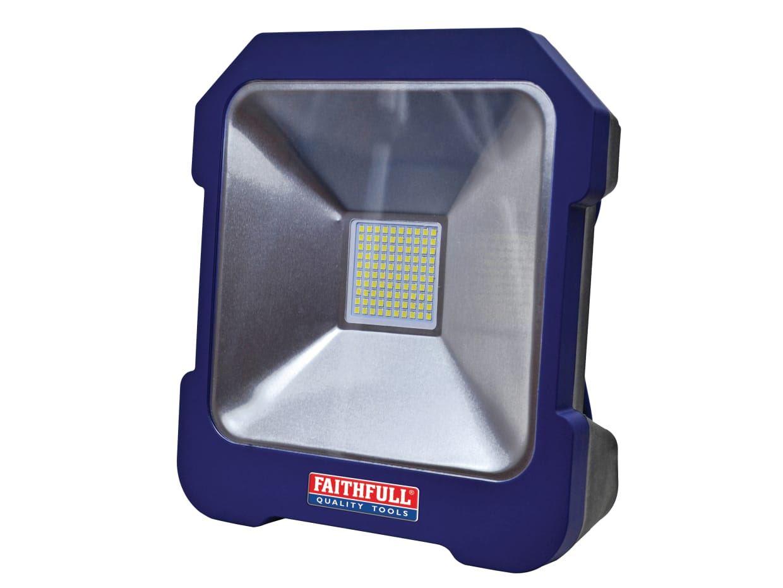 Faithfull Power Plus Task Light Power Take Off 110 Volt and 240 Volt 38 Watt