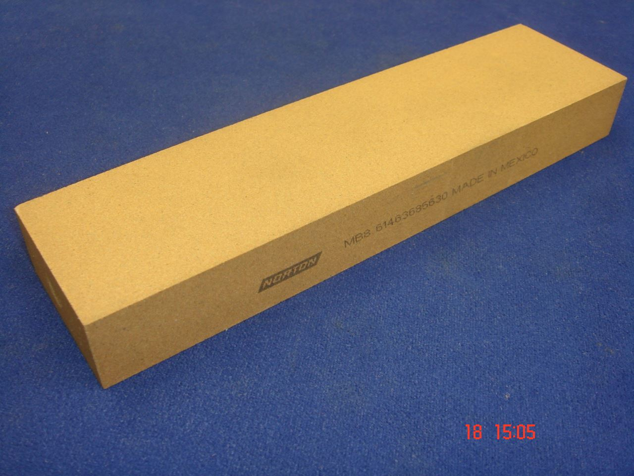 Norton India Mb8 Bench Sharpening Stone 200mm X 50mm X