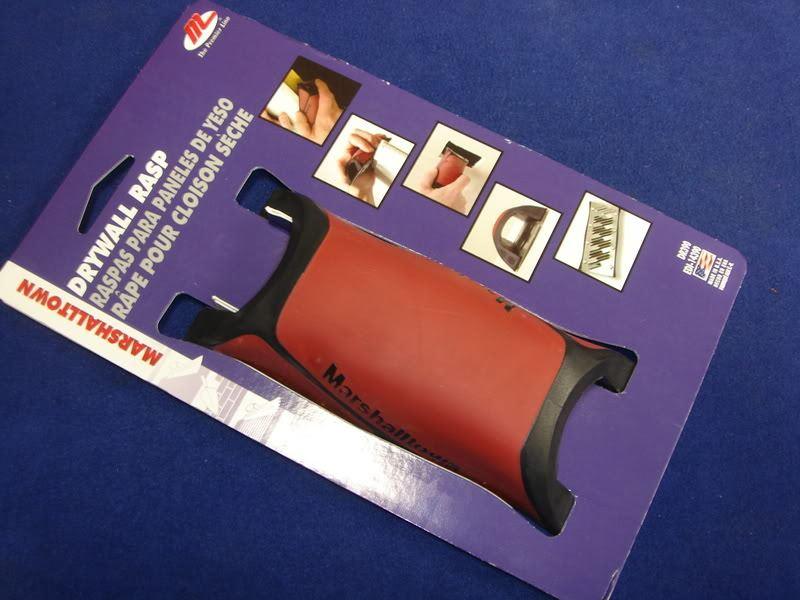 GOLDBLATT G05026 Drywall Plasterboard Hand Rasp,Sander,File,Surform