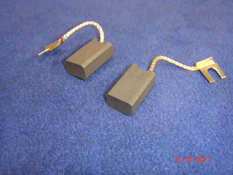 Pair of Carbon Brushes for Bosch UBH 2-20 SERL UBH 3//20 SE UBH 3//24 SE UBH 42430
