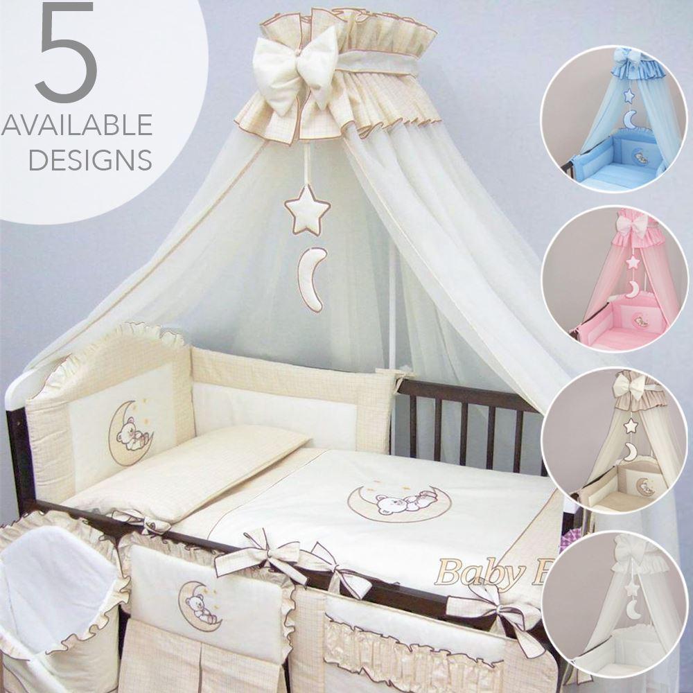 6 colours New Baby Cot Canopy Drape Chiffon with Free Holder Drape Rod