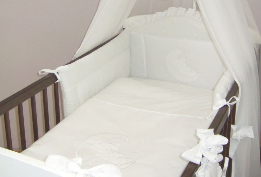 3 teiliges baby bettw sche set passend zu gitter kinderbett 120x60 140x70 ebay. Black Bedroom Furniture Sets. Home Design Ideas