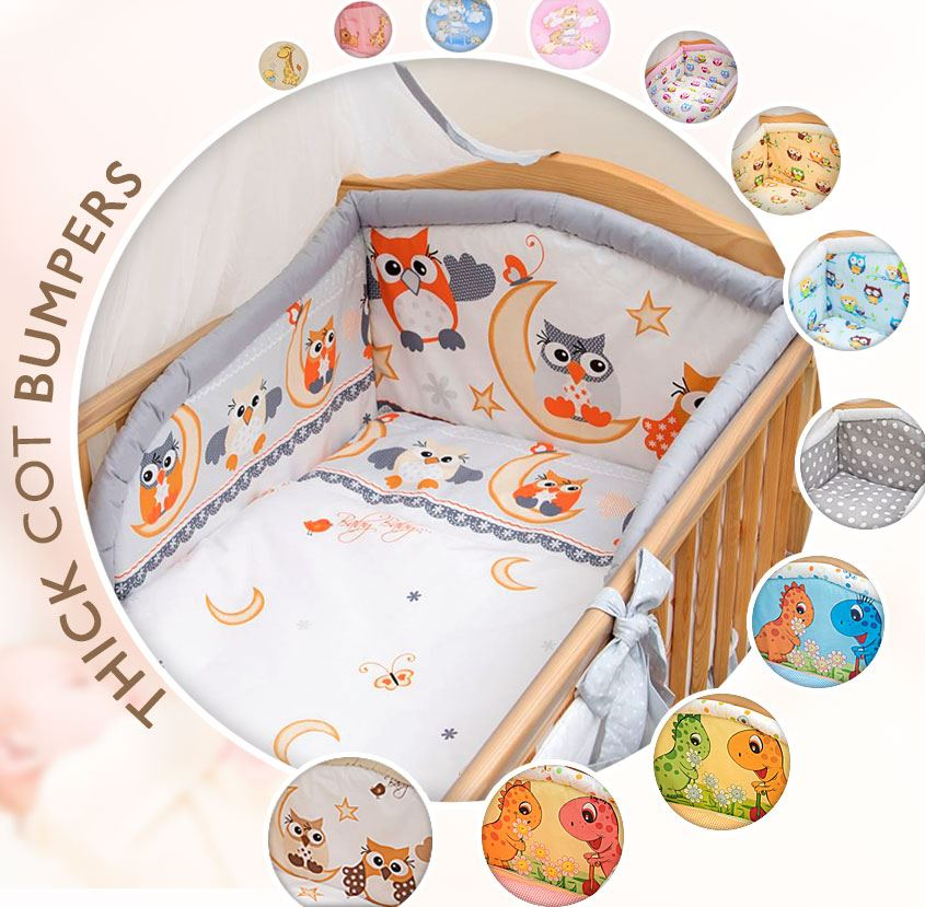 5 pc Baby Bedding Set for COT 120X60 OR