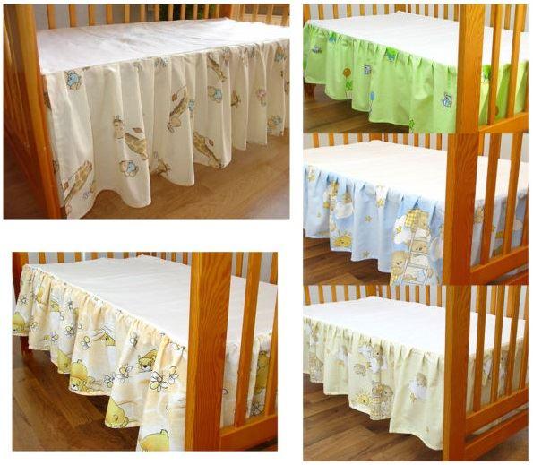 jabot lit d 39 enfant tour de feuille drap plat avec magnifique enfant b b ebay. Black Bedroom Furniture Sets. Home Design Ideas