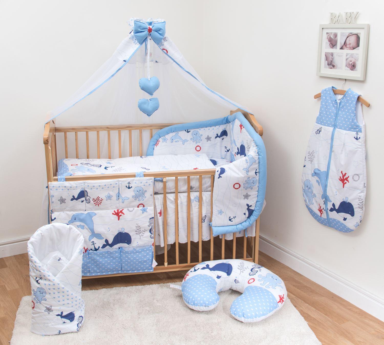Nursery Cot Amp Cot Bed Bedding Set 3 Pcs 6 10 Piece Sheet