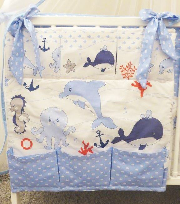 Nursery Baby Cot Tidy / Organiser for Cot/ Cotbed/ Cot Bed | eBay