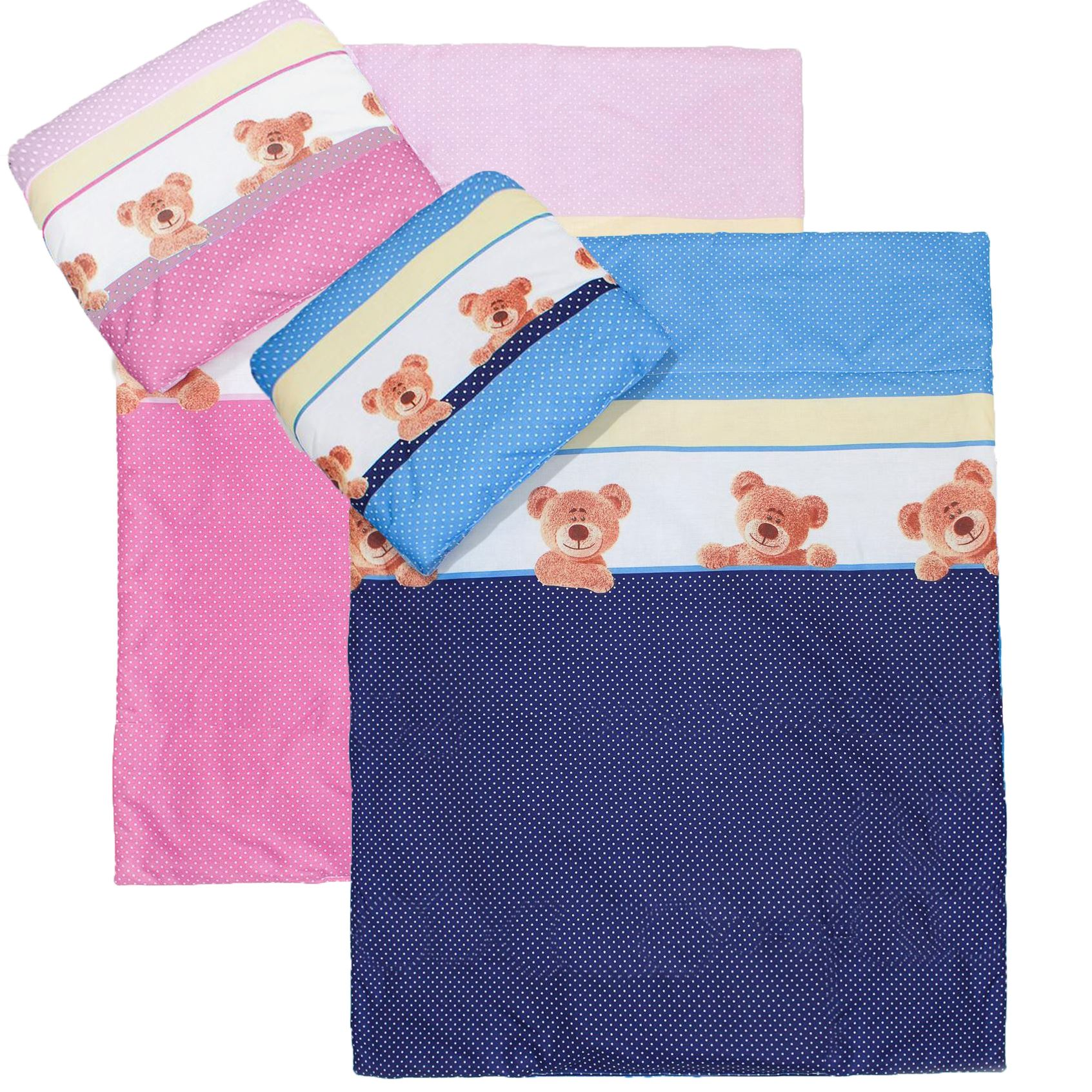 Sheet For Cot Cotbed Bear Moon Embroidery 6 Piece pcs Baby Nursery Bedding Set