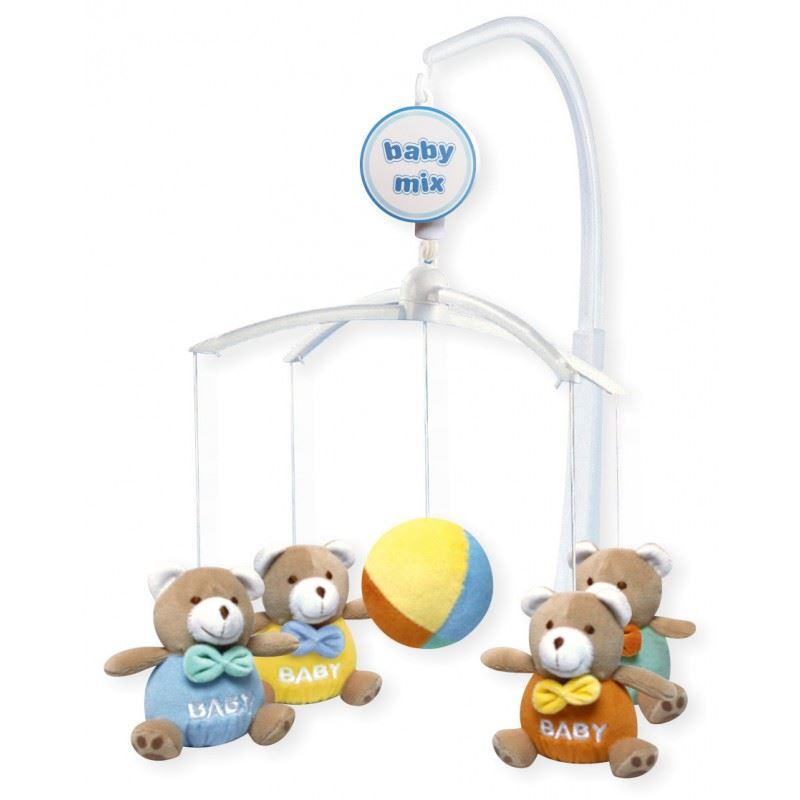baby kinderzimmer cot wiege mobil spielzeug mit beruhigende musical schlaflied ebay. Black Bedroom Furniture Sets. Home Design Ideas