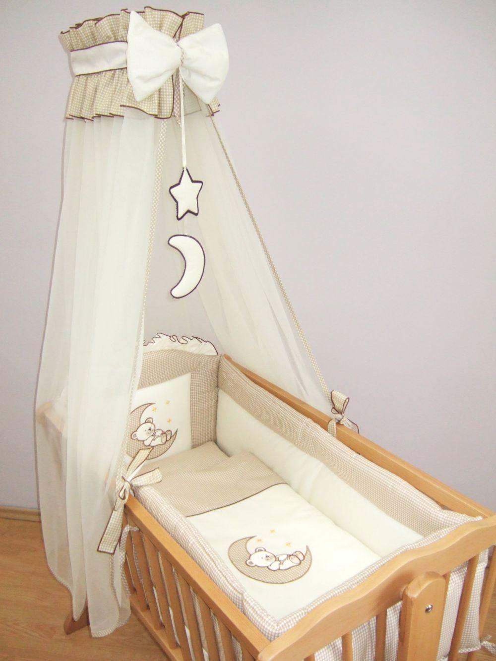 10 Piece Crib Baby Bedding Set 90x40 Cm Fits Swinging