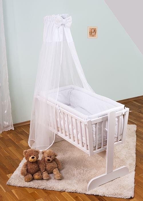 8 Teiliges Baby Bettwäsche Set 90x40 Cm Mit 4 Seitig Kinderbett