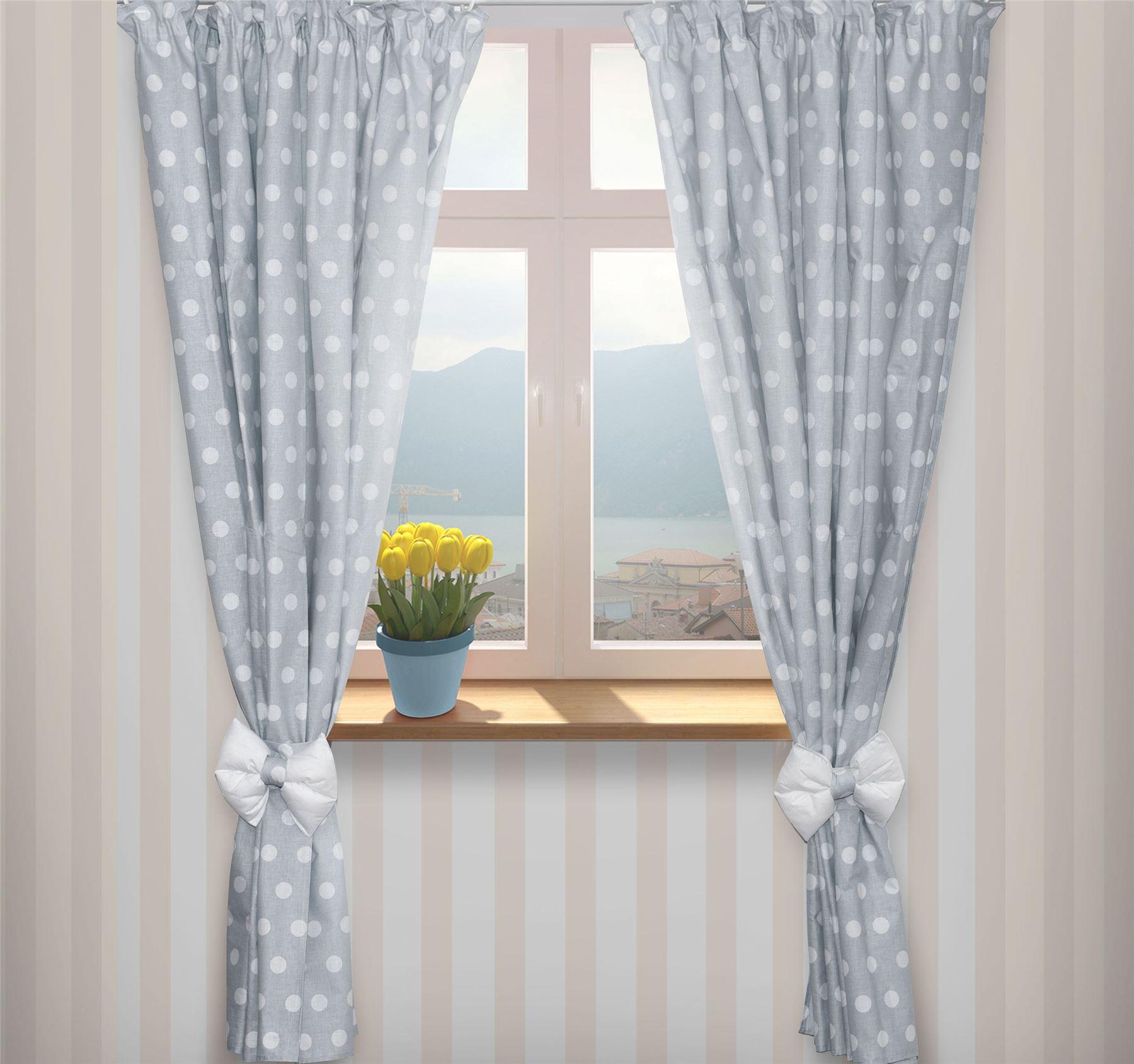 Junior kids baby room nursery window curtains tape pencil for Nursery curtains uk