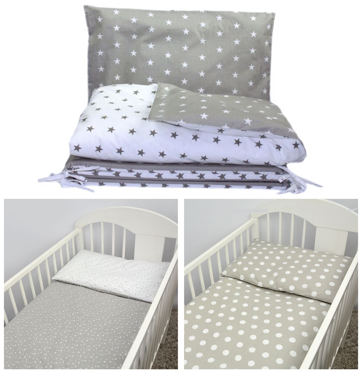 4 Piece Toddler Kids Cot Bed Set Duvet Pillow /& Covers 120x90 135x100 150x120 cm 120 x 90 cm Duvet, 7