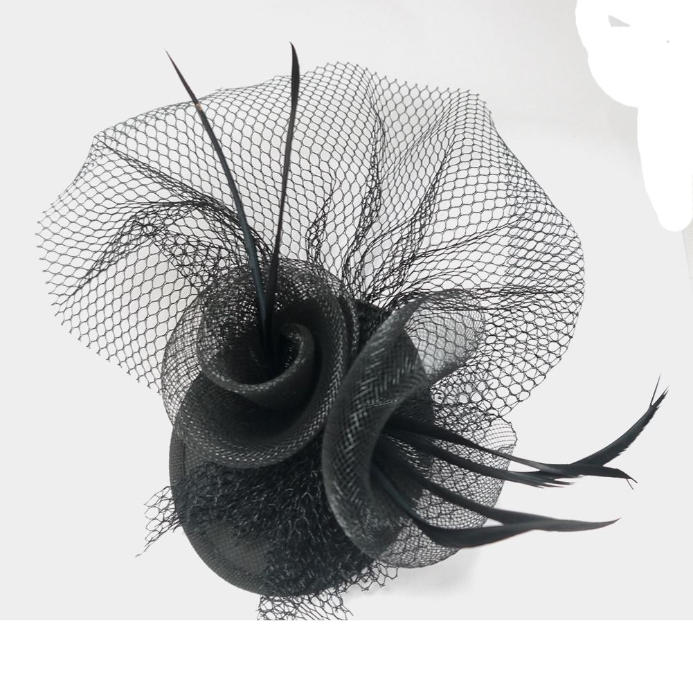 Molly and Rose Fascinator Black Lf076 SS 09  74acfcc37a3
