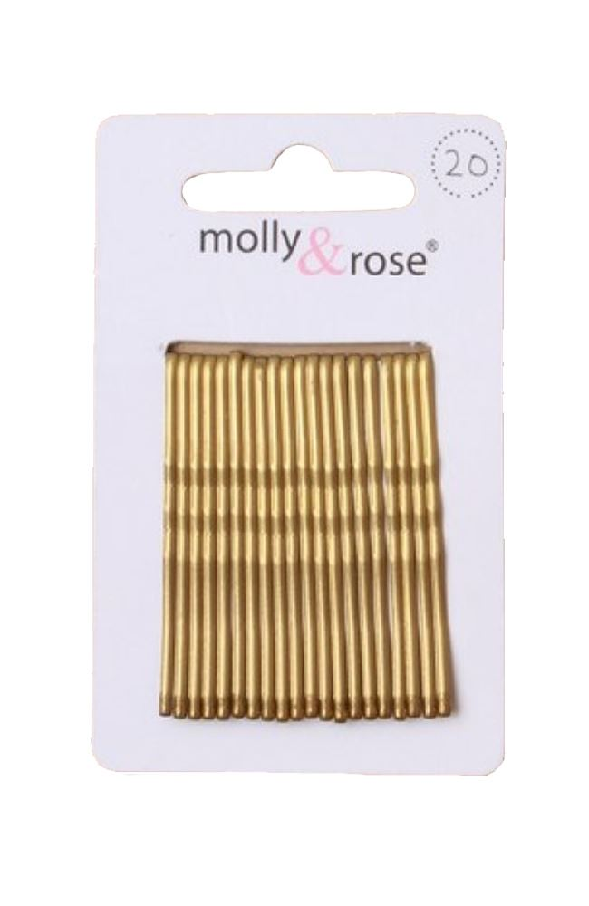 20pc-Standard-4-5cm-Kirby-Grips-Hair-Bobby-Pins-Clips-Blonde-Black-Brown