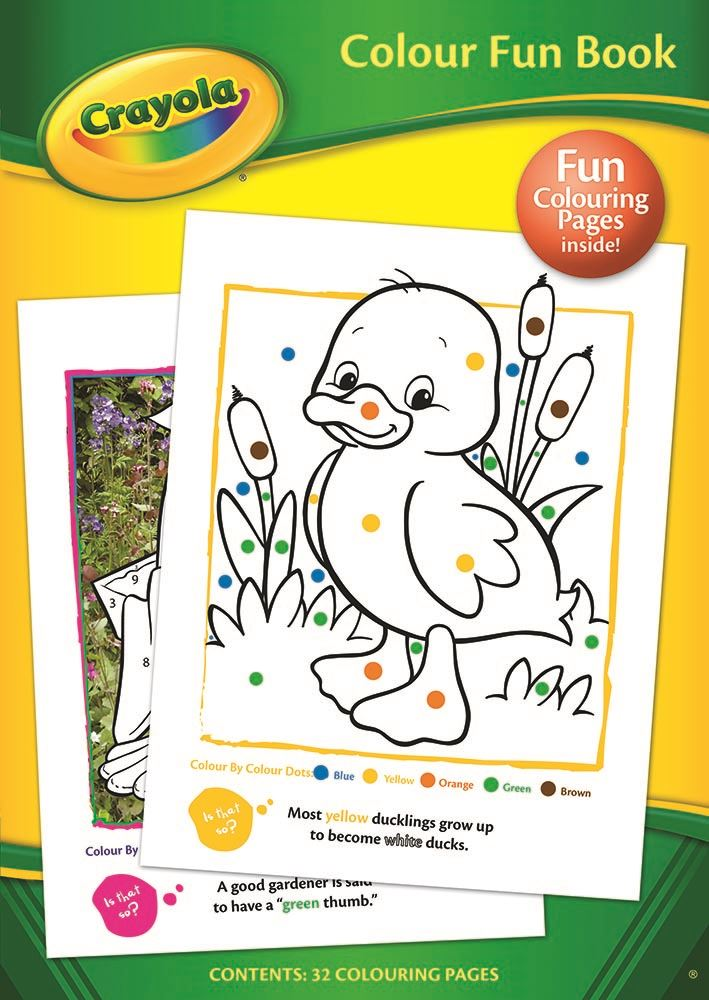 Crayola Color Divertido Infantil Para Colorear libro de actividades ...