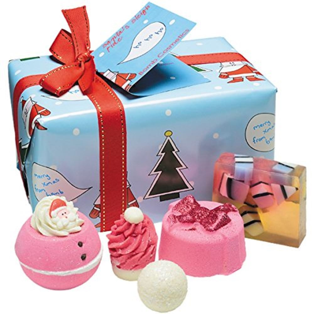 Bomb Cosmetics Wrapped Christmas Xmas Gift Pack Set ...