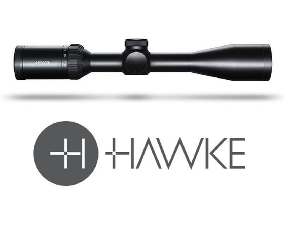 Hawke Panorama 4-12×40   10x ½ Mil Dot Rifle Scope (Hunting Optics)
