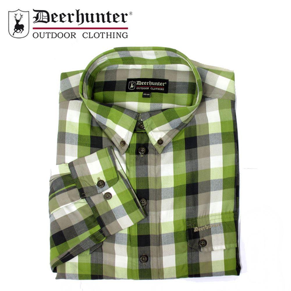 R30 Red//Green Check Country Hunting Shooting *Deerhunter Milton Shirt