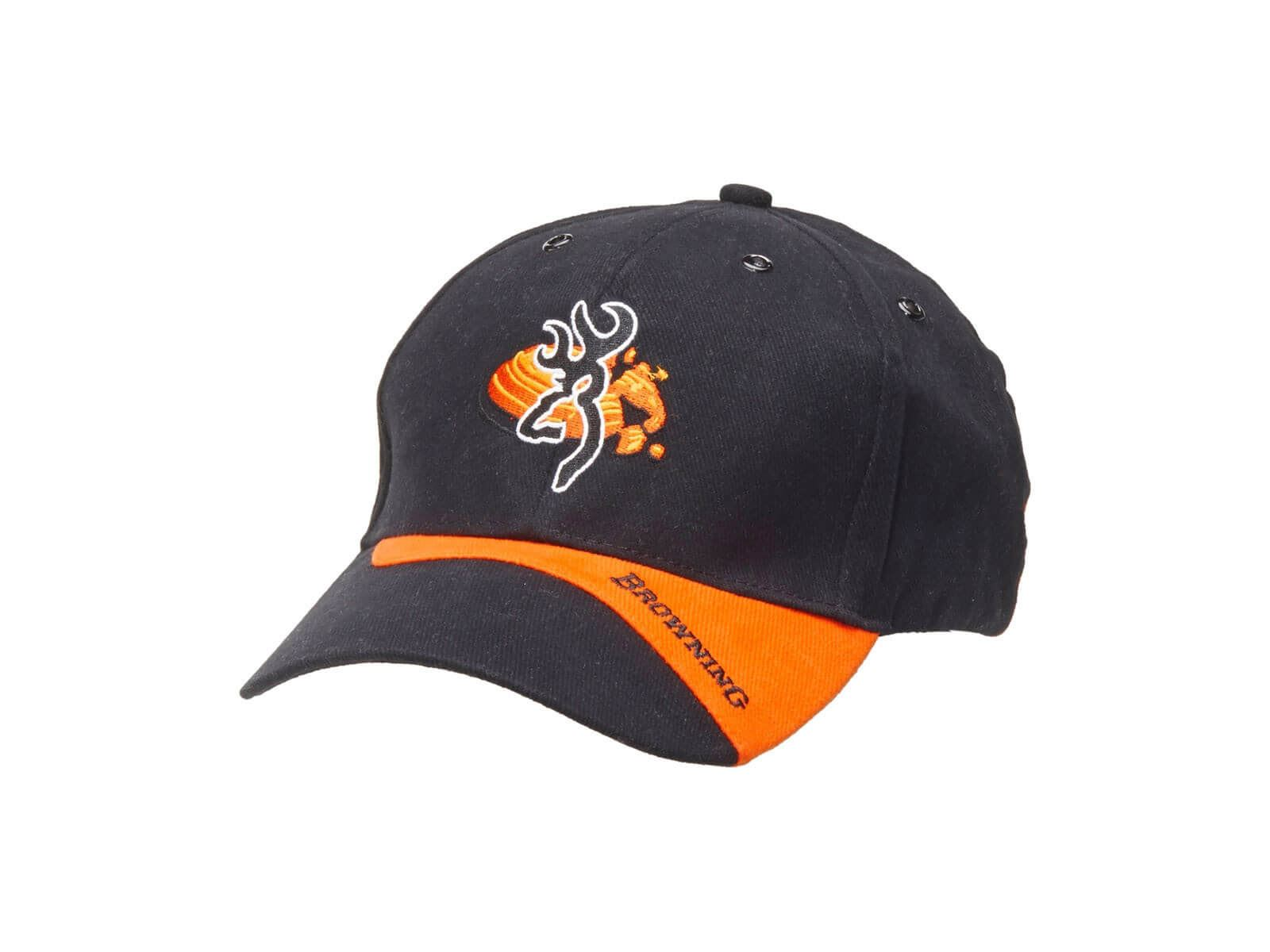 b014e391172bf5 Details about Browning Cap Claybuster Black Orange clay shooting ,hat,basball  cap