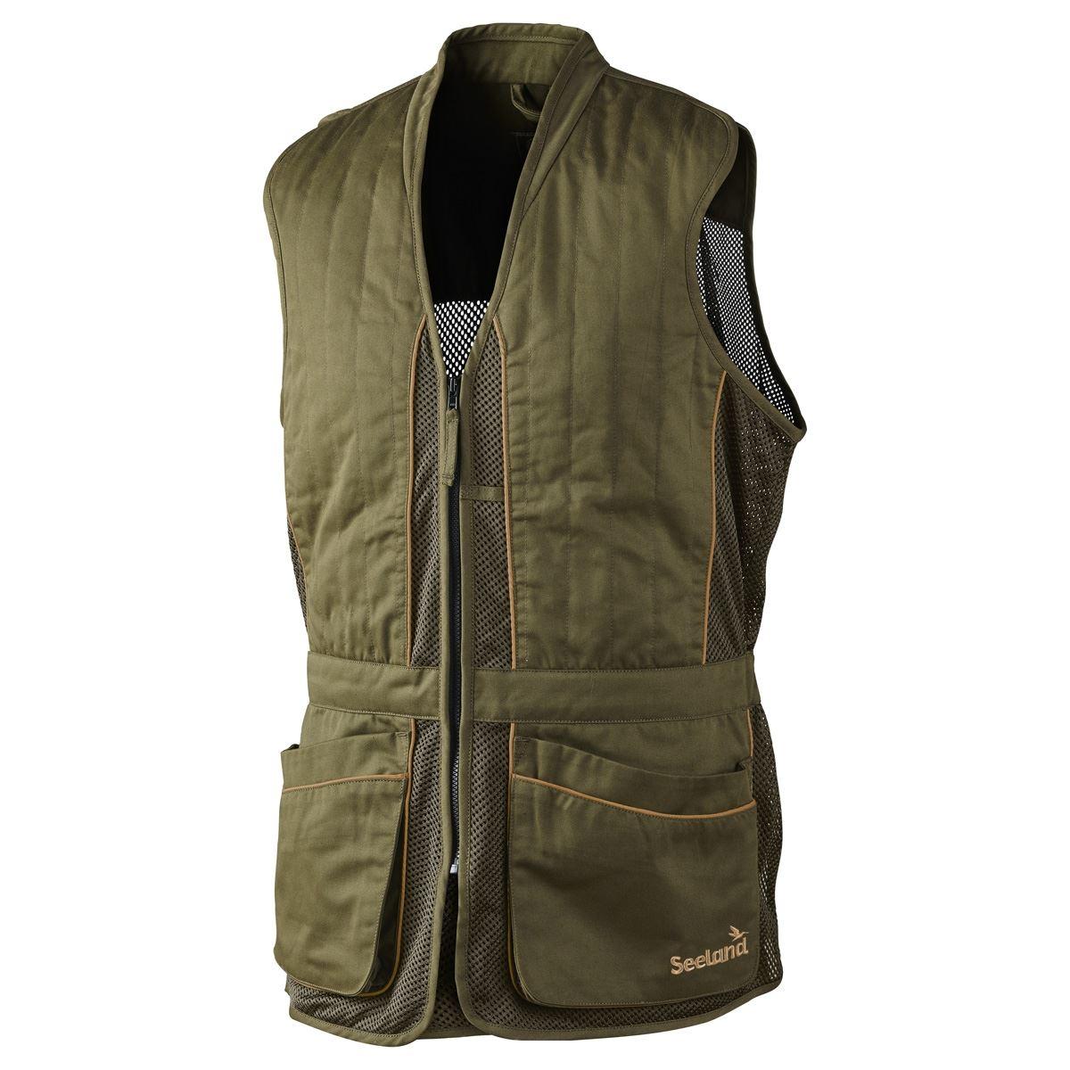 Seeland Skeet Waistcoat Green, Sizes Small to 4XL (Clay Shooting Hunting)