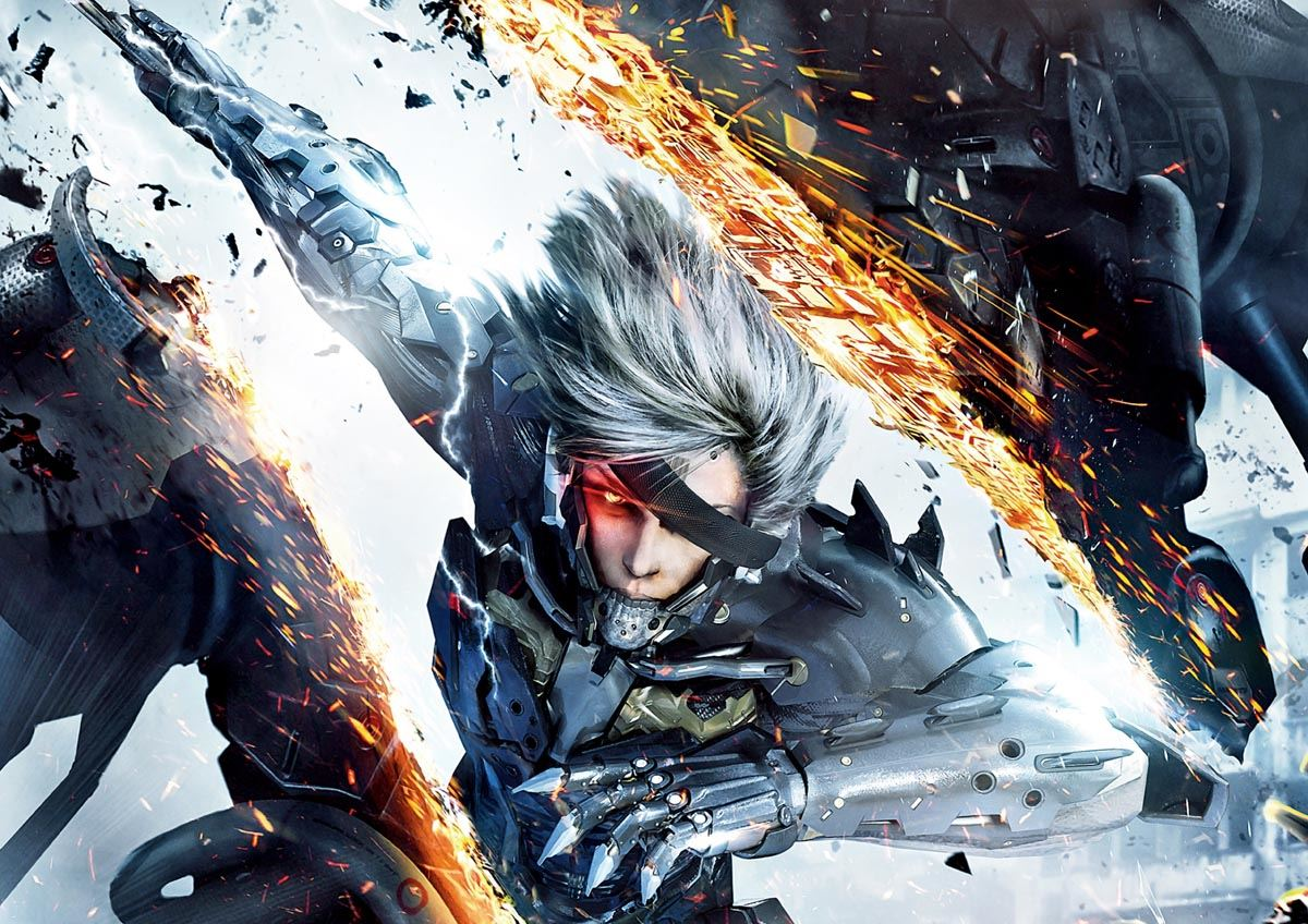 PRINT POSTER YF5344 3 METAL GEAR RISING REVENGEANCE XBOX ONE PS4 PS3 GAME PC