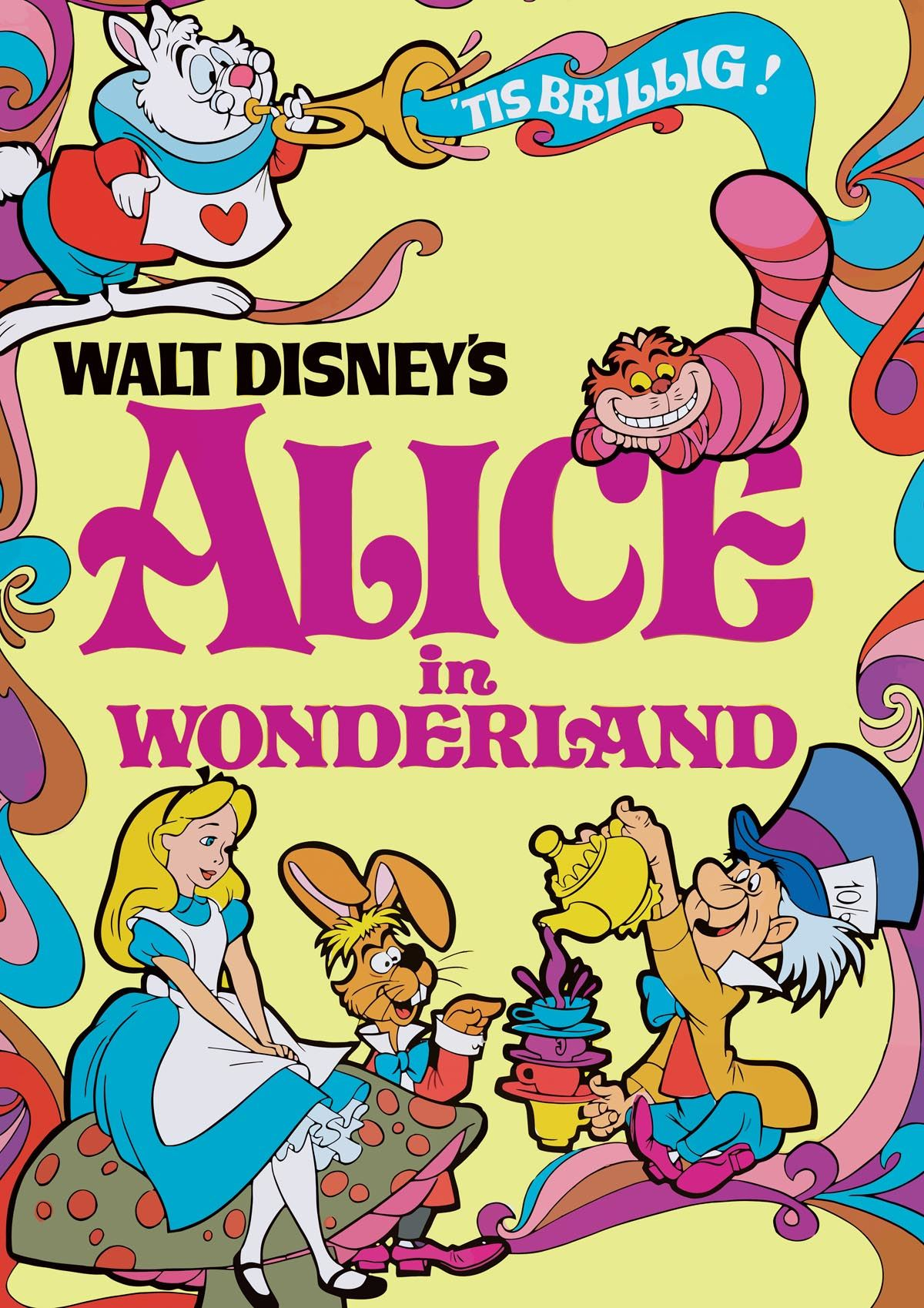 DISNEY ALICE IN WONDERLAND A3 ART PRINT POSTER YF5156   eBay