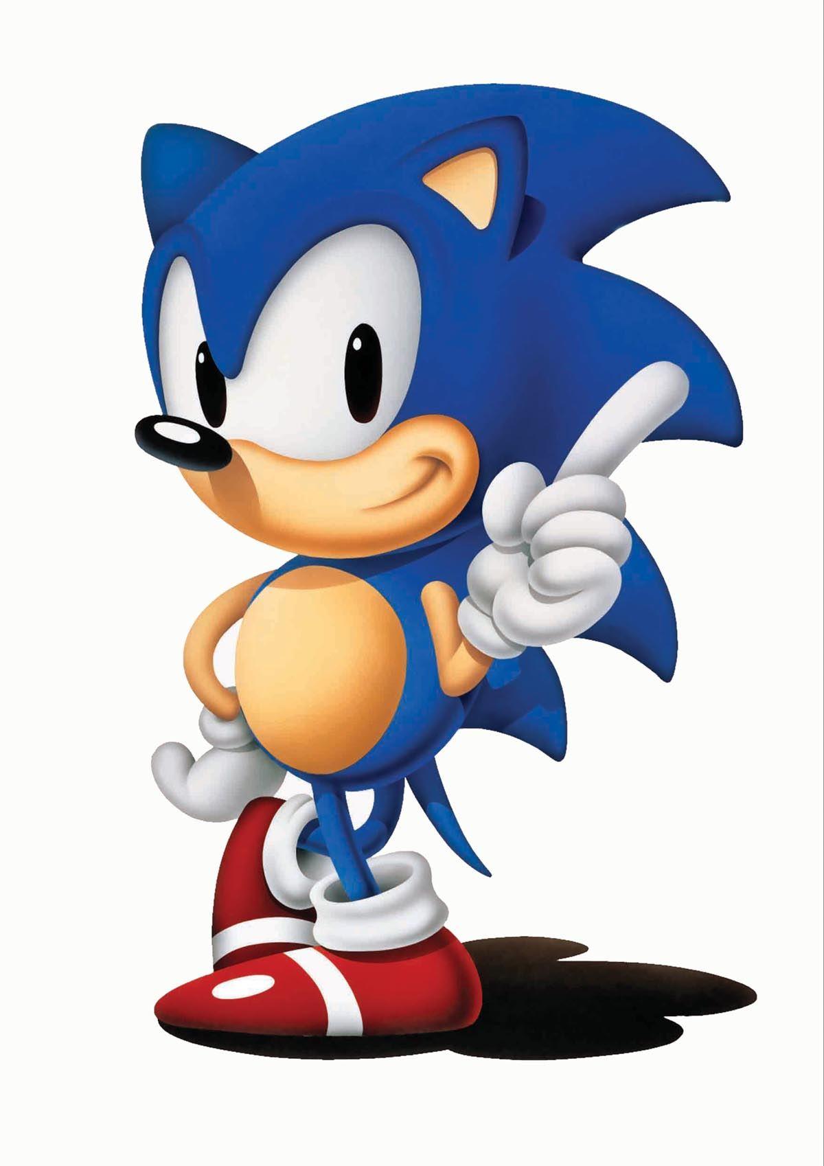 Sonic Hedgehog Classic A3 Poster Print Yf533 Ebay