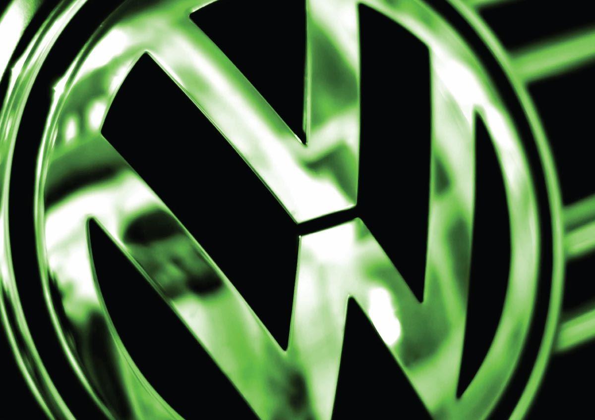 VW Logo A3 Poster