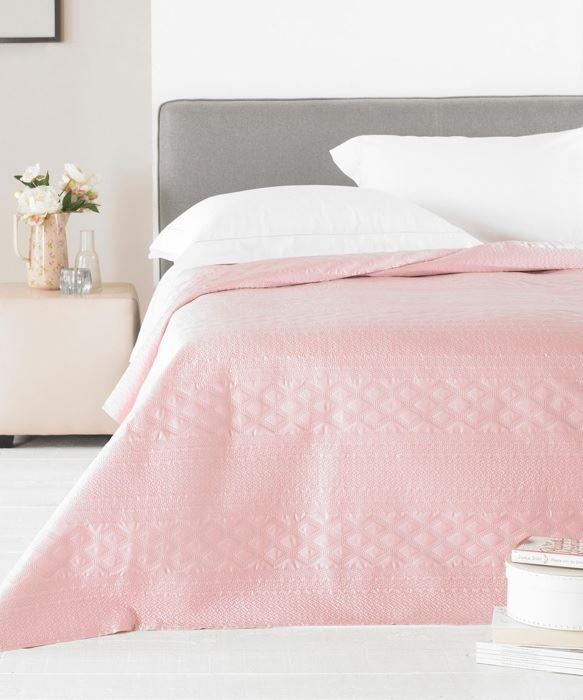 reversible bedspread bedding throw satin pastel embossed double king pastel ebay