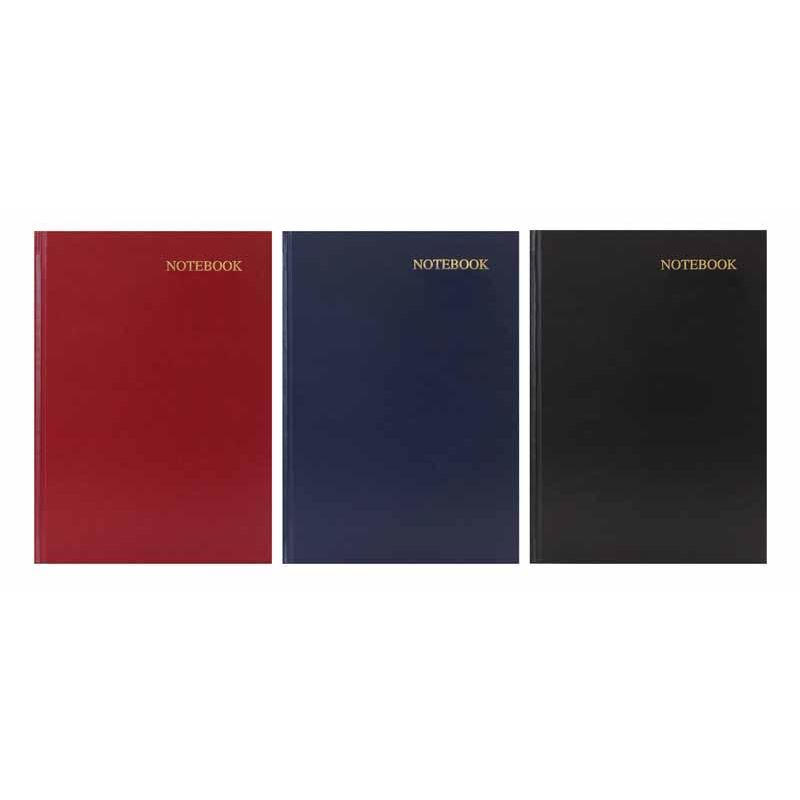 1x A6 A5 A4 Hardback Notebook Lined Ruled Journal Notepad Office School Diary