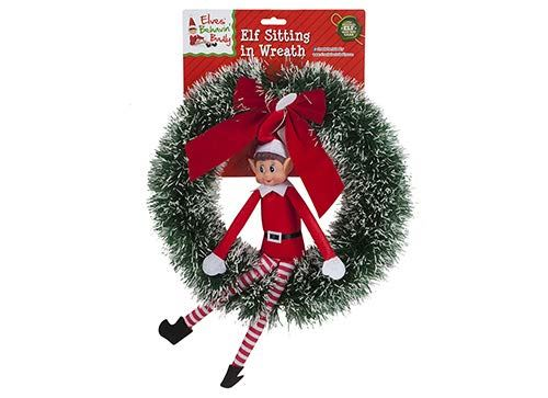 elf plush figure character elf door christmas decoration