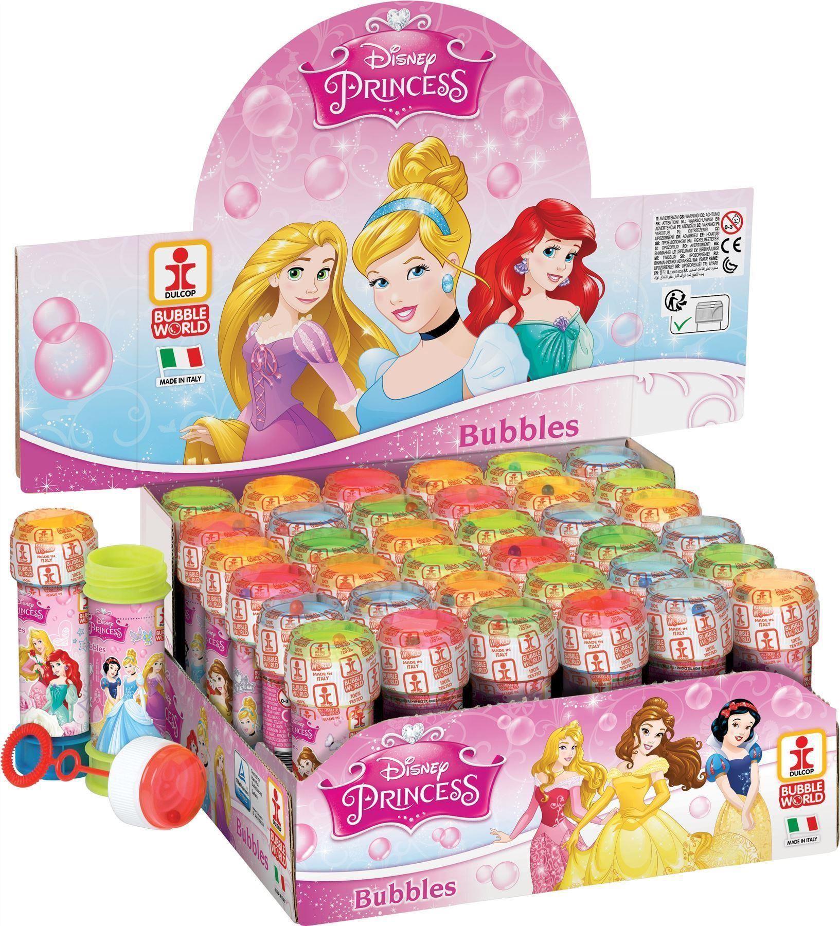 Disney Princess Bubbles Bubble Tubs Girls Kids Party Bag Filler ...