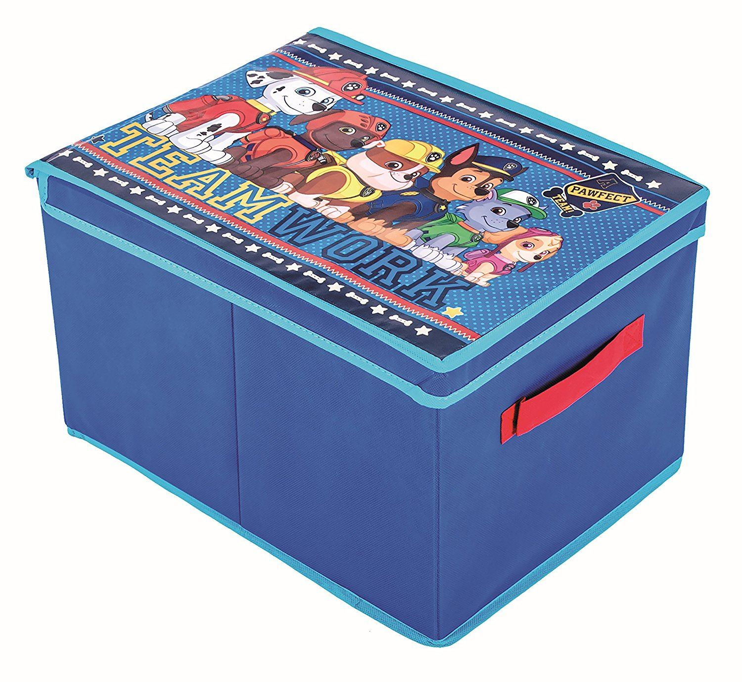 Paw Patrol Kids Toy Organizer Bin Children S Storage Box: Paw Patrol Toys Foldable Storage Box Chest Pop Up Chair