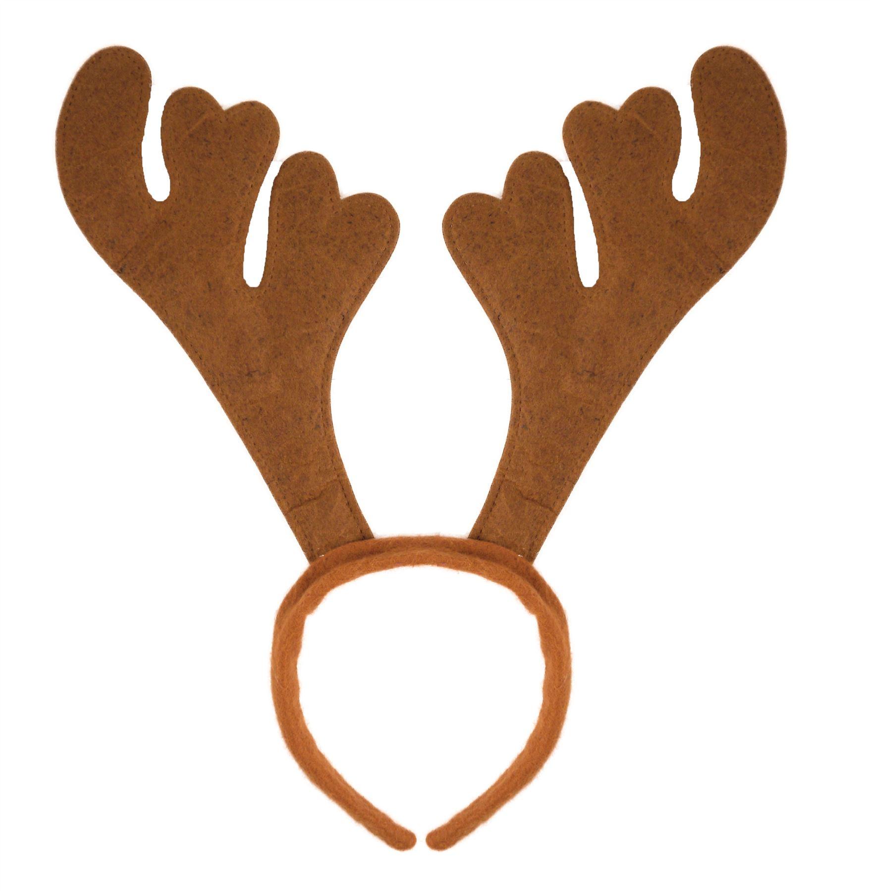 Christmas Headbands Hat Fancy Dress Hat Reindeer Antlers Santa ...