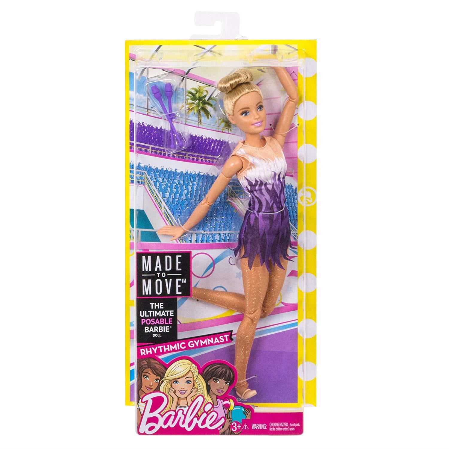 Barbie-Made-to-Move-Collectable-Careers-Fashion-Dolls thumbnail 18