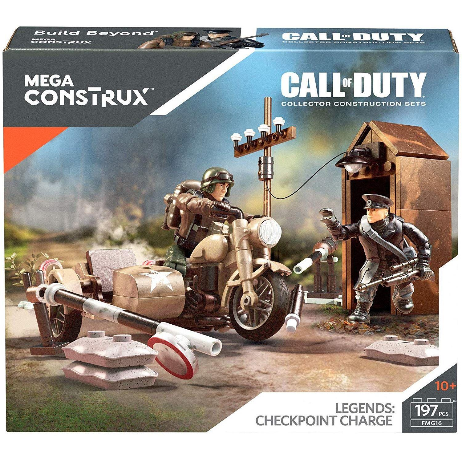 2 Piece Mattel Mega Construx Call of Duty Buildable Playset