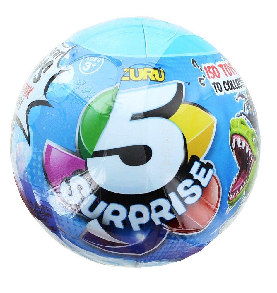 5 x ZURU 5 Surprise Garçons aveugle jouet balle neuf