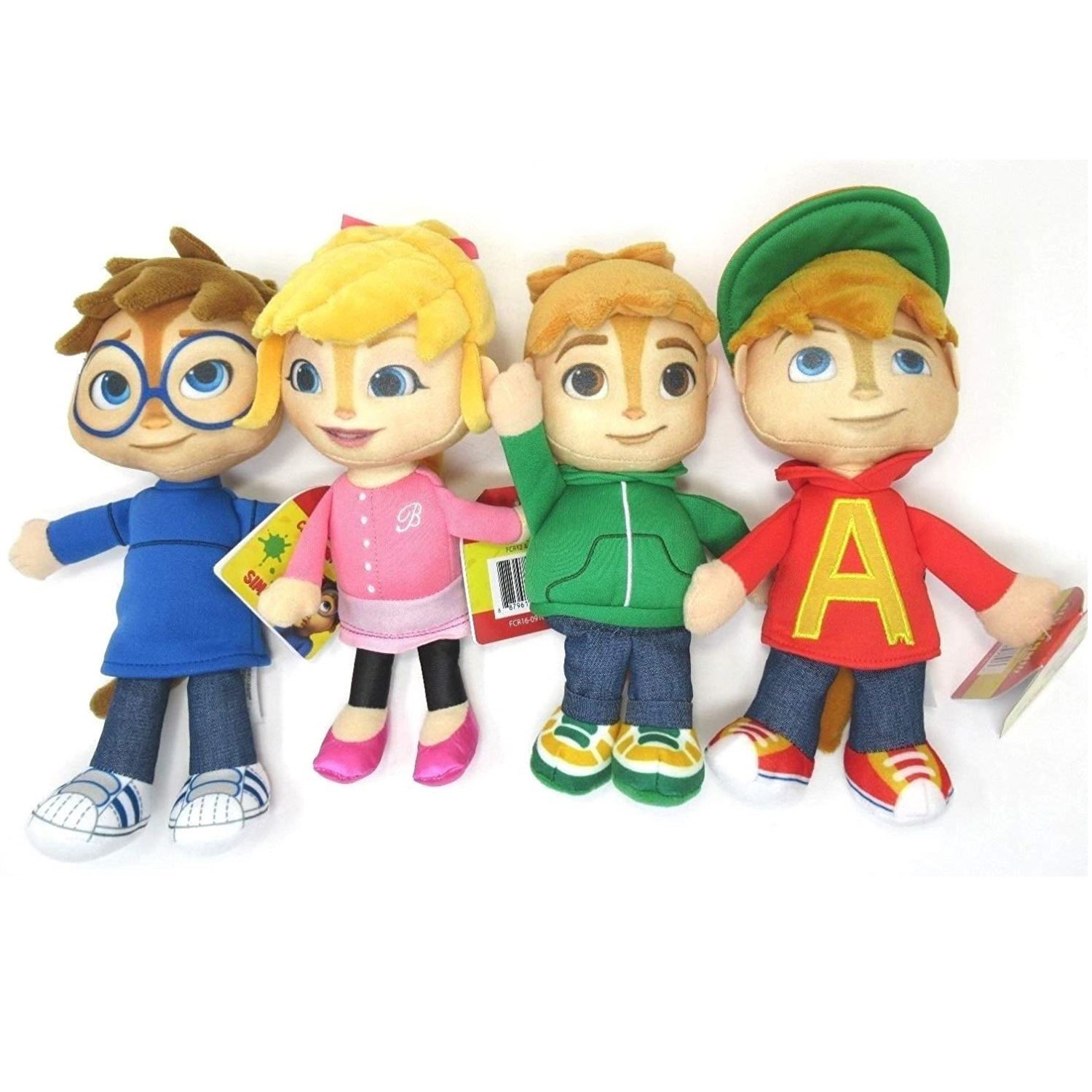 Alvin And The Chipmunks Alvin And Brittany details about authentic fisher price alvin and the chipmunks 4 plushes  theodore simon brittany