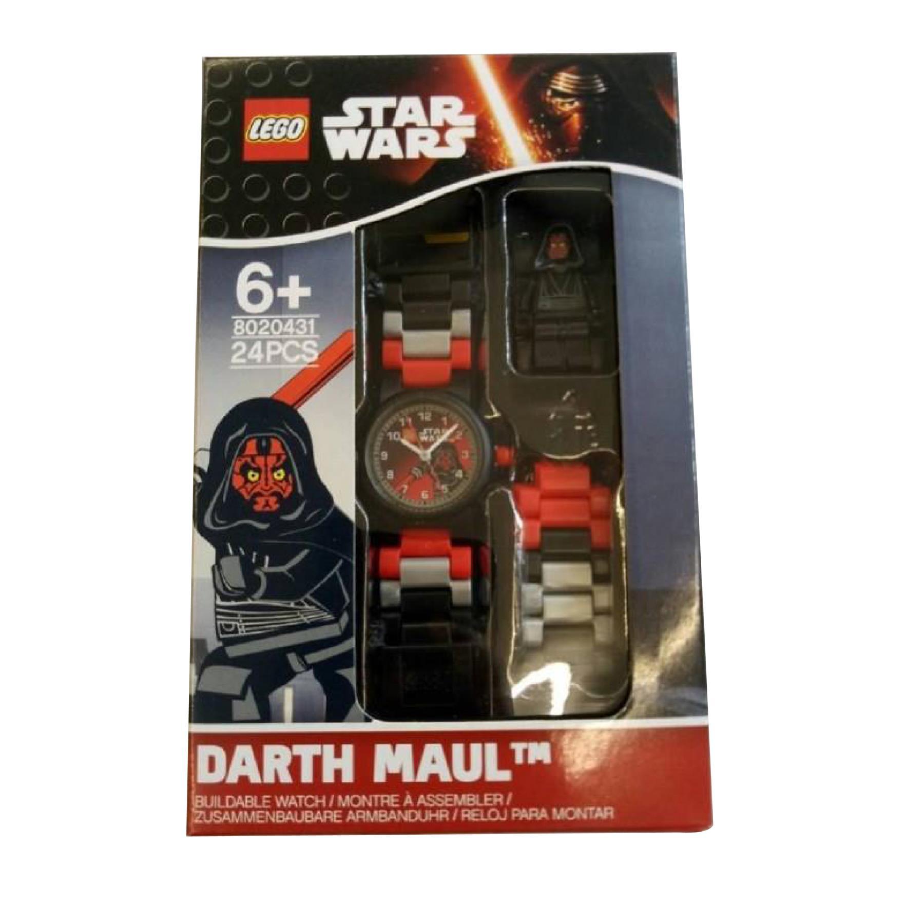 Lego Star Wars 8020431 Darth Maul Boys Wrist Watch Ebay