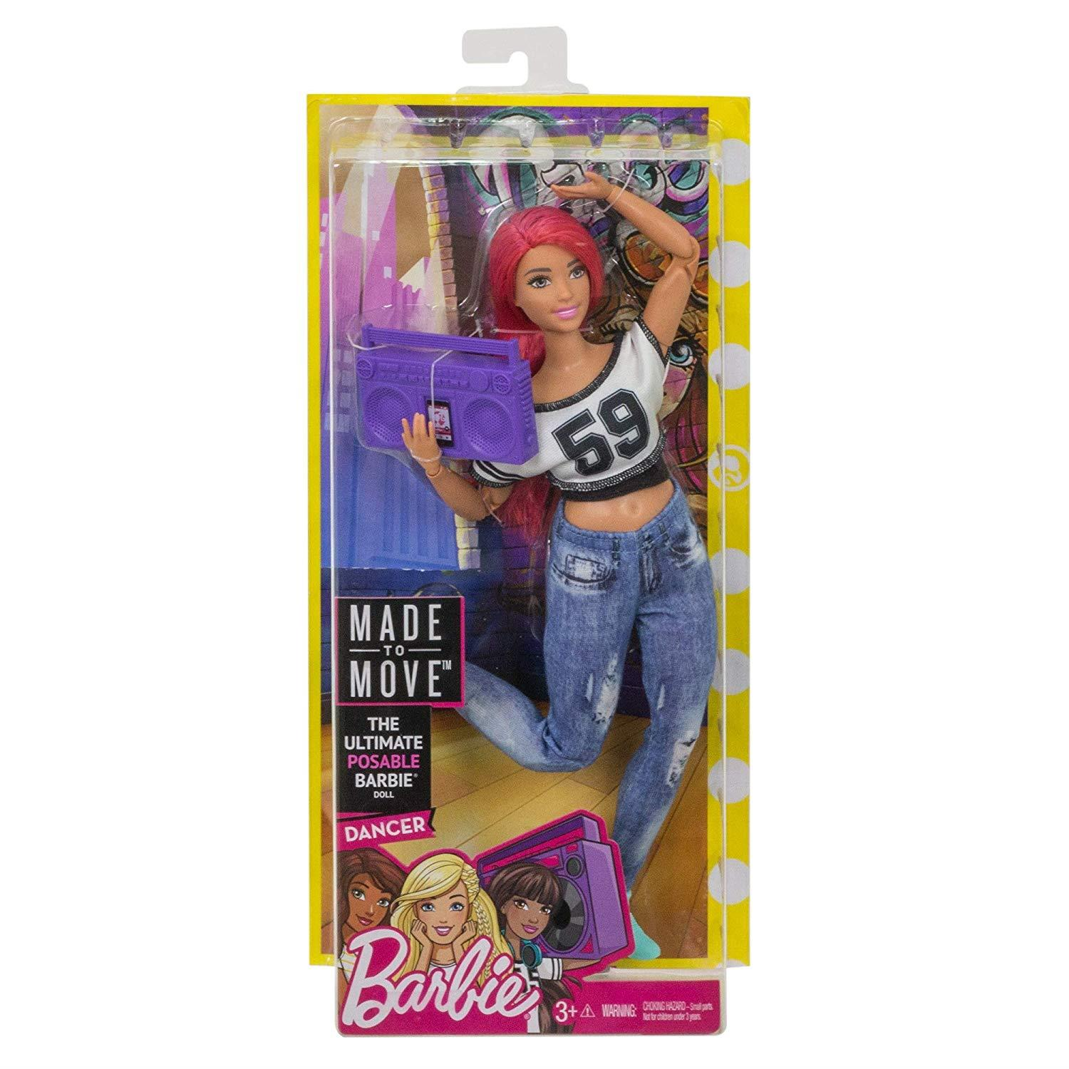 Barbie-Made-to-Move-Collectable-Careers-Fashion-Dolls thumbnail 13
