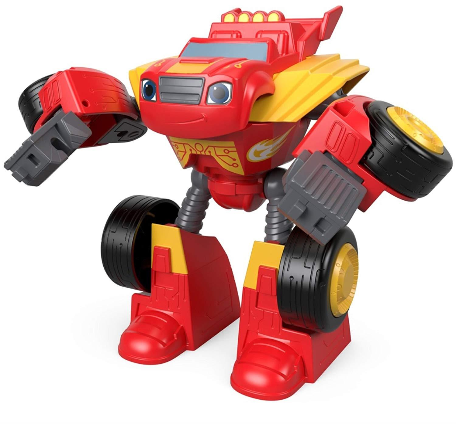 Blaze And The Monster Machines Blaze Transforming Robot Rider