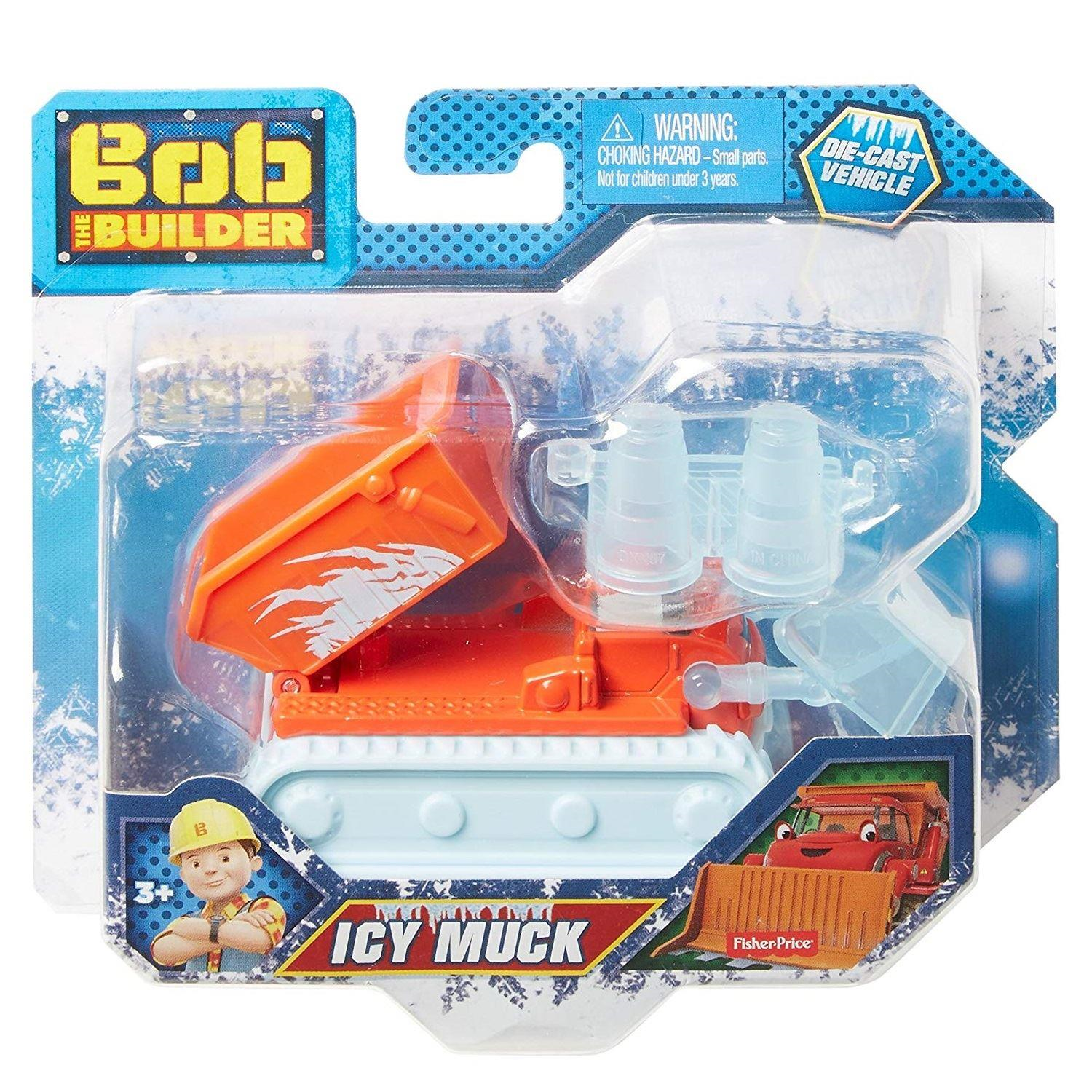 Bob the Builder Fisher-Price Fuel Up Friends Icy Roly Vehicle